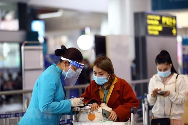 航空局:拒绝为没有执行健康申报的乘客提供服务 hinh anh 1