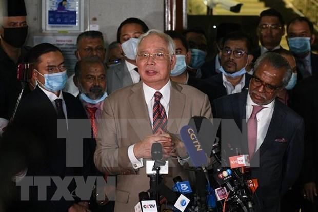 """马来西亚前总理纳吉布就涉""""一马公司""""案提出上诉 hinh anh 1"""