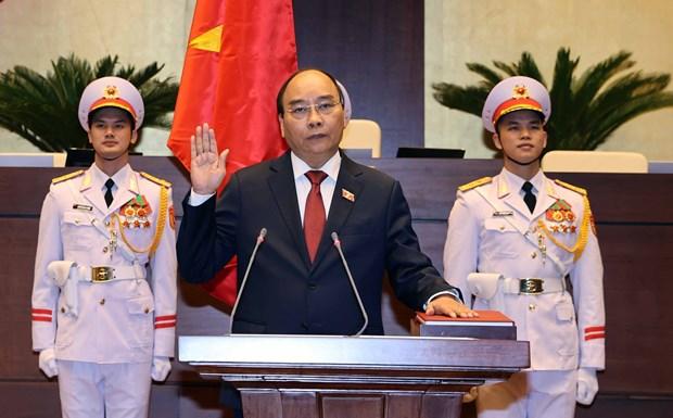 越南国家主席阮春福:续写新奇迹迈向建设繁荣富强国家新征程 hinh anh 1