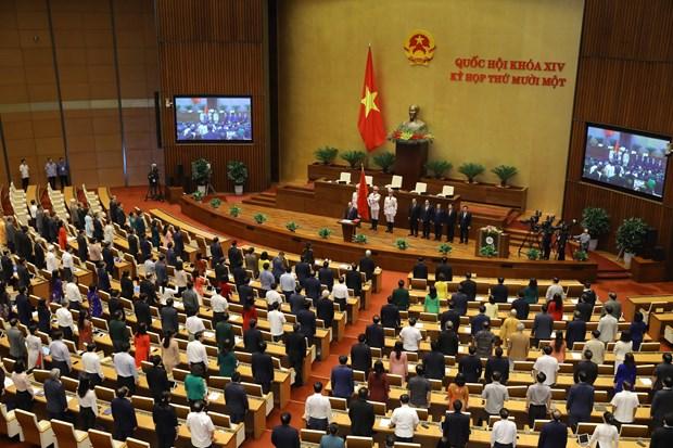 越南国家主席阮春福:续写新奇迹迈向建设繁荣富强国家新征程 hinh anh 2