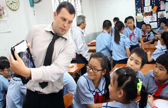 北江省促进高中学校的英语教学活动 hinh anh 1