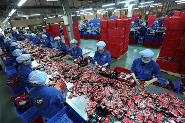 牛津经济研究院:凭借在全球供应链上的地位不断升级越南经济出现增长势头 hinh anh 1
