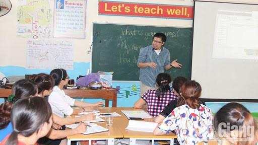 北江省促进高中学校的英语教学活动 hinh anh 2