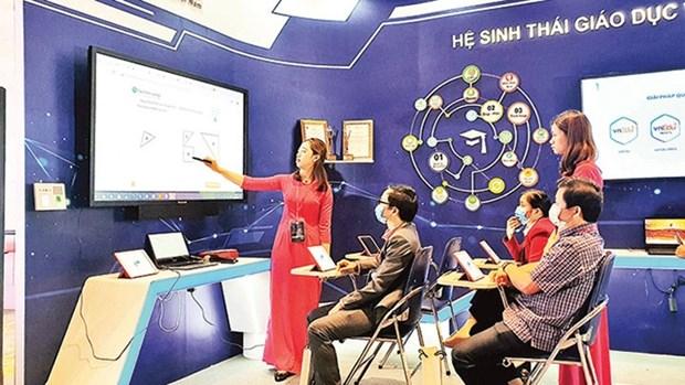 实现经济数字化的途径: 启动数字化转型进程 hinh anh 1