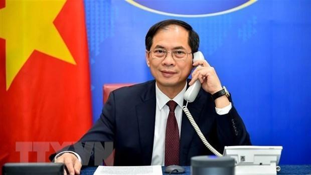 越南一向重视与俄罗斯的全面战略伙伴关系 hinh anh 1