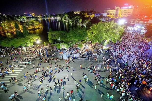 河内暂停举行庙会和步行街的相关活动 hinh anh 1