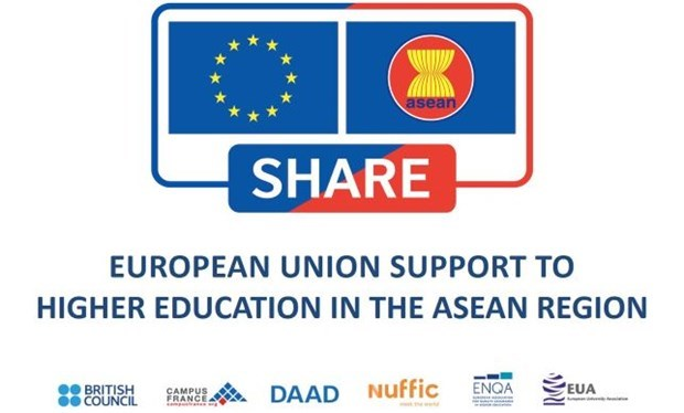 欧盟为东盟高等教育扶持计划资助500万欧元 hinh anh 1