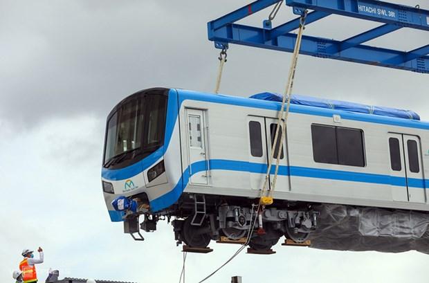 滨城-仙泉地铁1号线的6列车将分别于5月6月和7月运抵胡志明市 hinh anh 1
