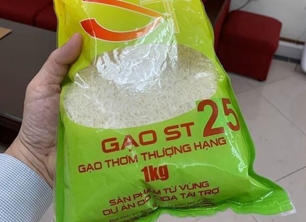 越南驻澳大使馆商务处就ST25大米在奥被申请品牌保护一事作出回应 hinh anh 1