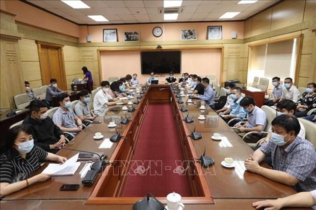 越南医疗队赴老挝协助新冠肺炎疫情防控工作:帮人如帮己 hinh anh 1