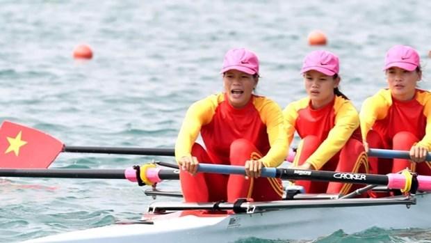 越南赛艇运动员获得东京奥运参赛资格 hinh anh 1