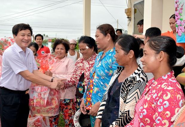 薄辽省努力改善高棉族同胞的生活水平 hinh anh 2