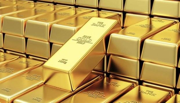 5月13日上午越南国内市场黄金价格下调10万越盾 hinh anh 1