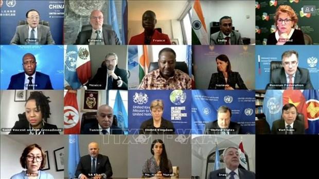 越南与联合国安理会:越南支持对伊斯兰国罪行进行调查和追究责任 hinh anh 1