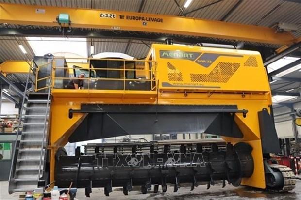 比利时与越南企业加强废弃物处置合作 hinh anh 1