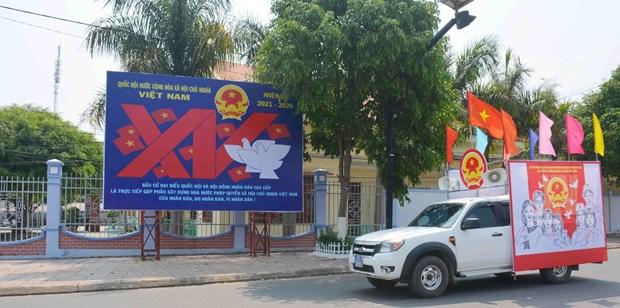 国会换届选举:新增两省获准提前举行选举 hinh anh 1
