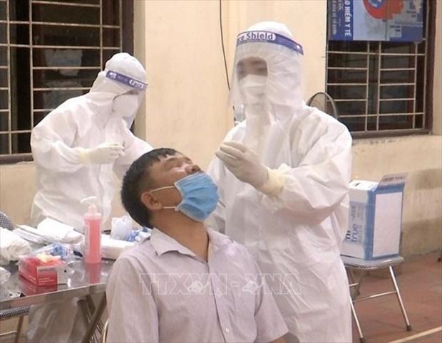 新冠肺炎疫情:5月14日早上越南新增本土病例29例 均为隔离区人员 hinh anh 1