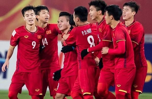 越南U23足球队跻身2022年亚足联U23亚洲杯预选赛一号种子球队 hinh anh 1