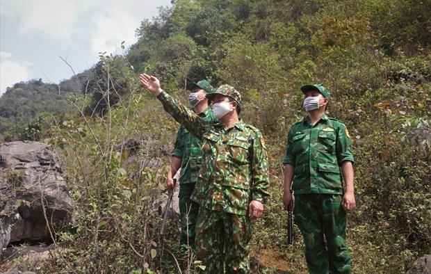 加强非法出入境热点地区的检查与管控措施 hinh anh 1