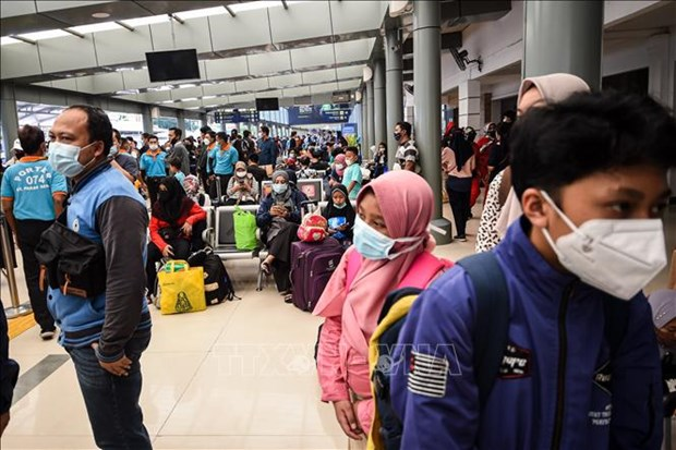 印尼在30各省市延长社区活动限制 hinh anh 1