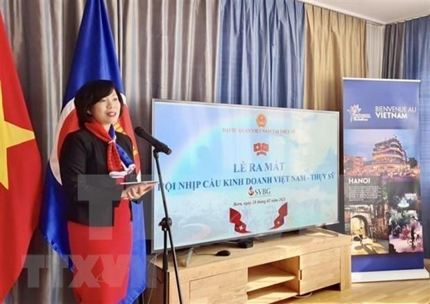 越南与瑞士商务桥梁协会代表委员会正式成立 hinh anh 1