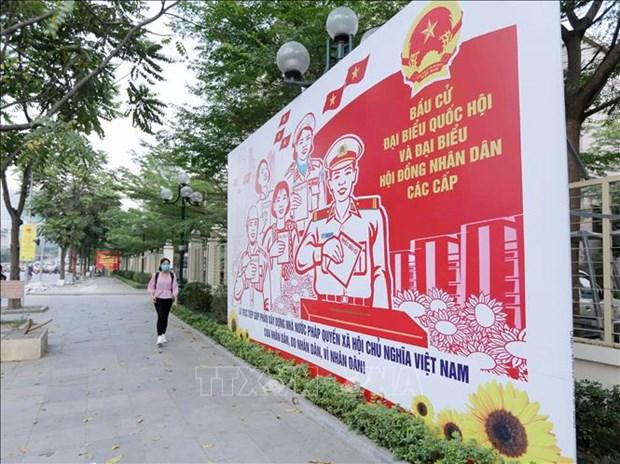 胡志明市少数民族同胞喜迎选举日 hinh anh 1