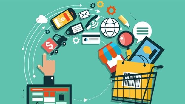 电子商务正在重塑越南零售市场秩序 hinh anh 1
