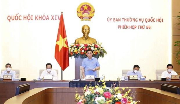 越南国会常委会第56次会议在河内开幕 hinh anh 1
