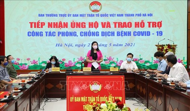 爱心企业、个人捐款捐物为疫情防控助力 hinh anh 1