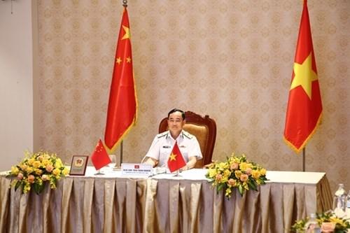 越南和中国海军加强合作 hinh anh 1