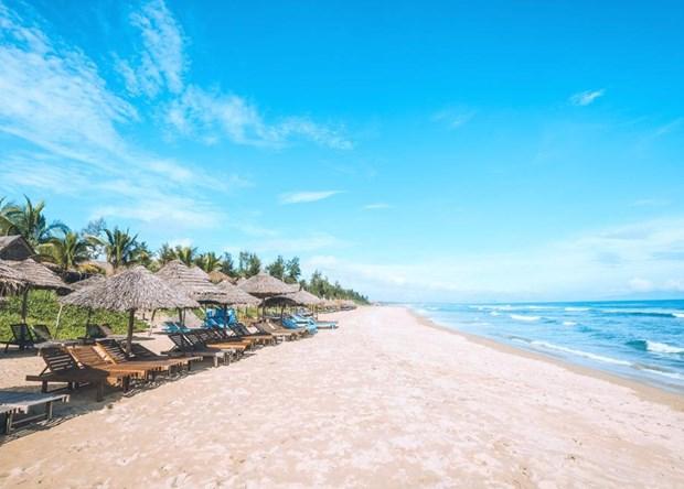 越南中部两个海滩跻身亚洲25大最佳海滩榜单 hinh anh 1