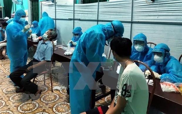 27日中午越南新增76例本土确诊病例 hinh anh 1