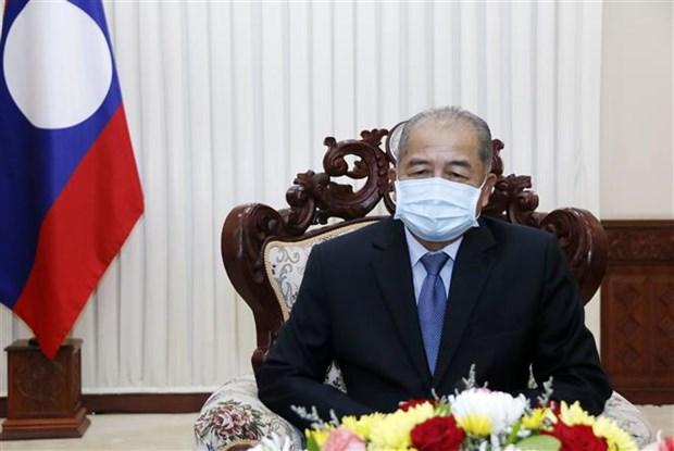 老挝副总理吉乔•凯坎匹吞:老挝高度重视与越南的特殊关系 hinh anh 1