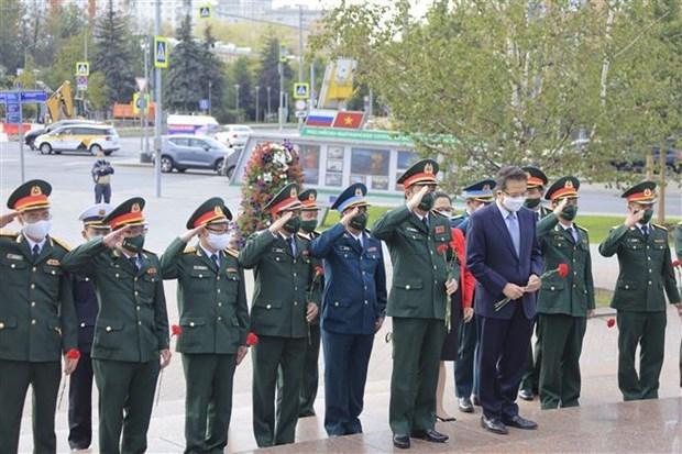 2021国际军事比赛:越南人民军参赛队经过三天角逐后成绩排名暂列第八位 hinh anh 2