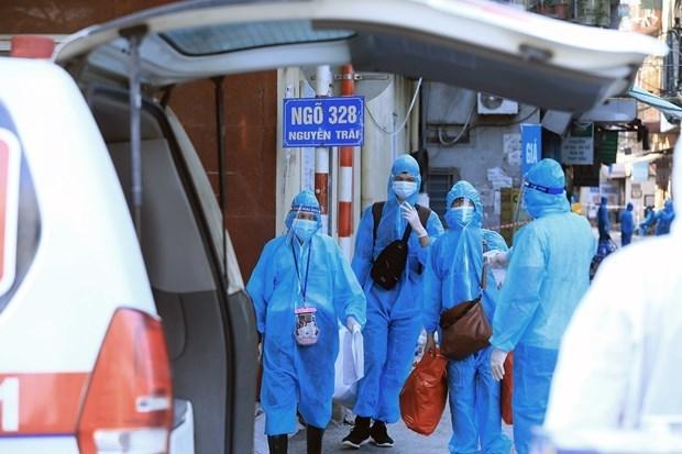 9月1日上午河内报告新增30例确诊病例 hinh anh 1
