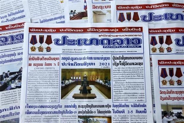 老挝媒体高度评价越南所取得的成就以及两国特殊关系 hinh anh 1