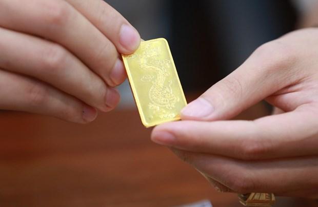 9月1日上午越南国内黄金价格上涨10万越盾 hinh anh 1