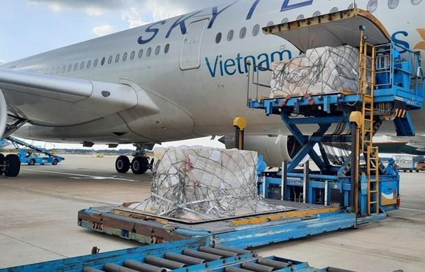 德国和日本继续为越南捐赠抗疫物资 hinh anh 1