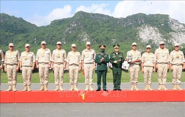 2021年国际军事比赛:越南和俄罗斯参赛队获得金牌 hinh anh 2
