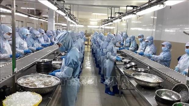 2021年前8个月越南农林水产品贸易顺差萎缩至33亿美元 hinh anh 1