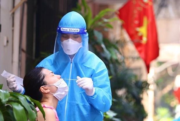 9月13日上午河内市新增确诊病例22例 均在各隔离区和封锁区发现 hinh anh 1