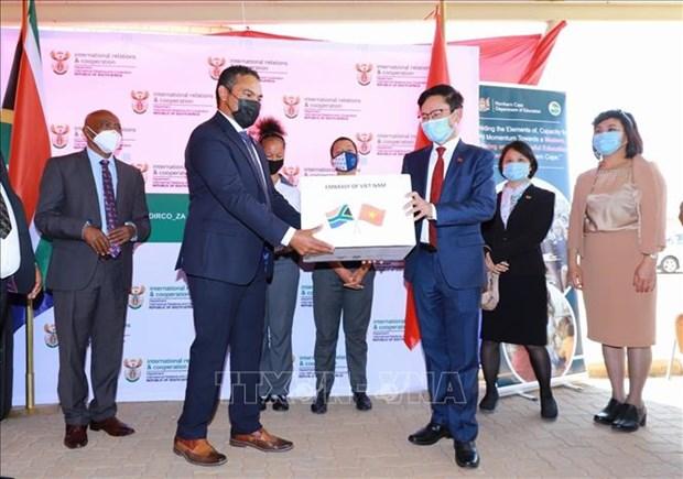 促进与越南的互利合作将为南非带来切实的社会经济利益 hinh anh 1