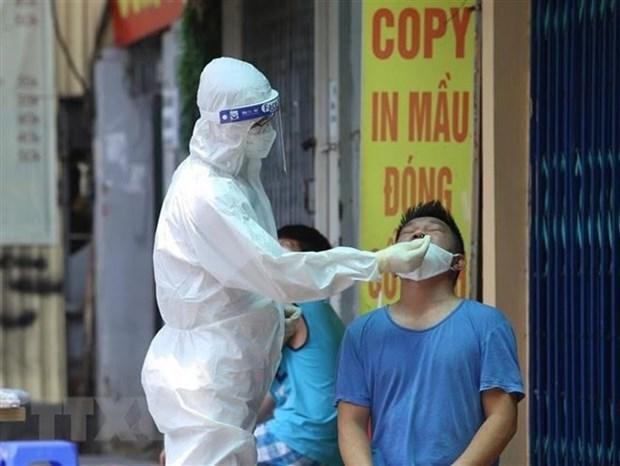 9月13日中午河内市报告新增15例确诊病例 hinh anh 1