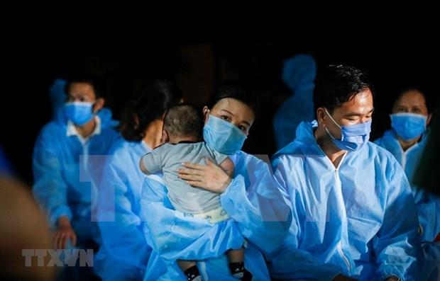 越南新冠肺炎疫情:接受隔离人员共10621 hinh anh 1