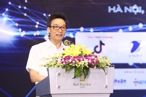 政府副总理武德儋:越南坚持实现数字化转型目标 hinh anh 2