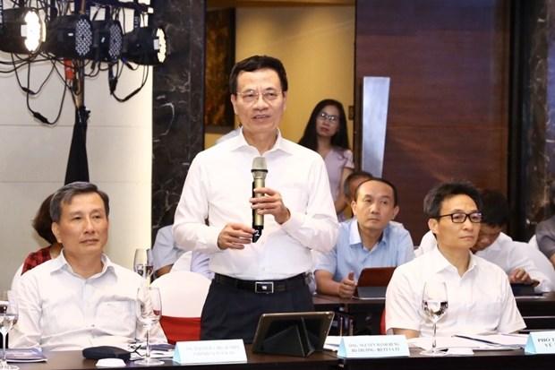 政府副总理武德儋:越南坚持实现数字化转型目标 hinh anh 3