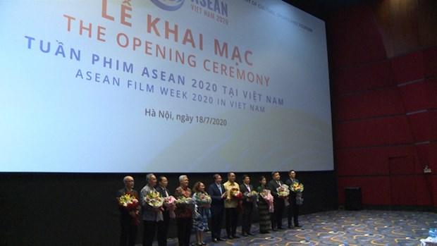 2020年东盟电影周在河内开幕 hinh anh 2