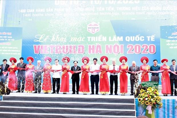 2020越南国际建筑建材及家居产品展览会共设展位近1400间 hinh anh 1