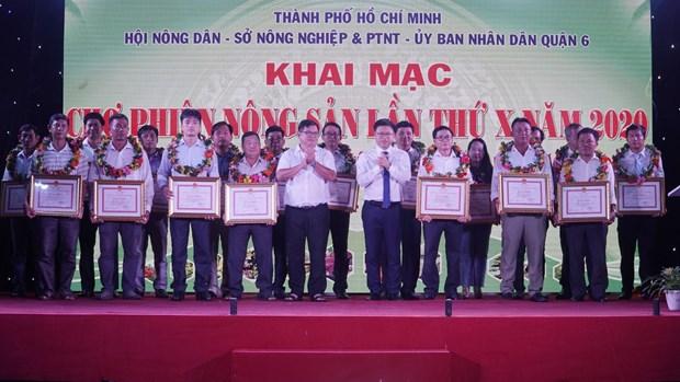 2020年第十次胡志明市农产品集市共设230间展位 hinh anh 1