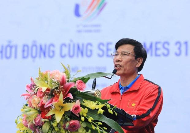第三十一届东南亚运动会启动仪式在河内举行 hinh anh 2